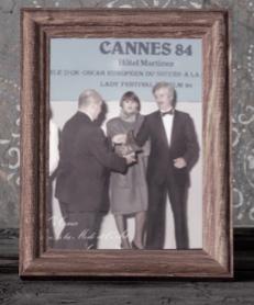Manlio Sorio at Cannes 84