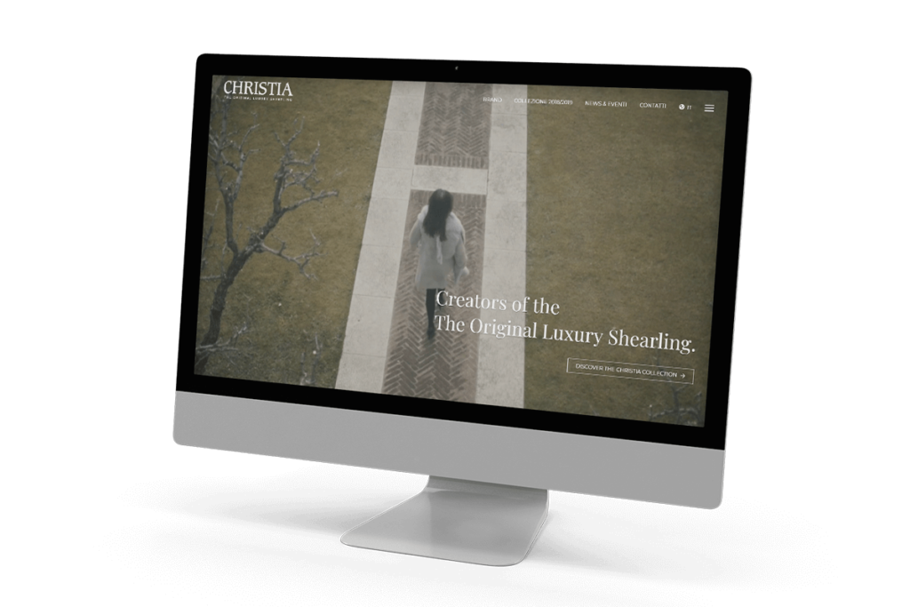 The new Christia website