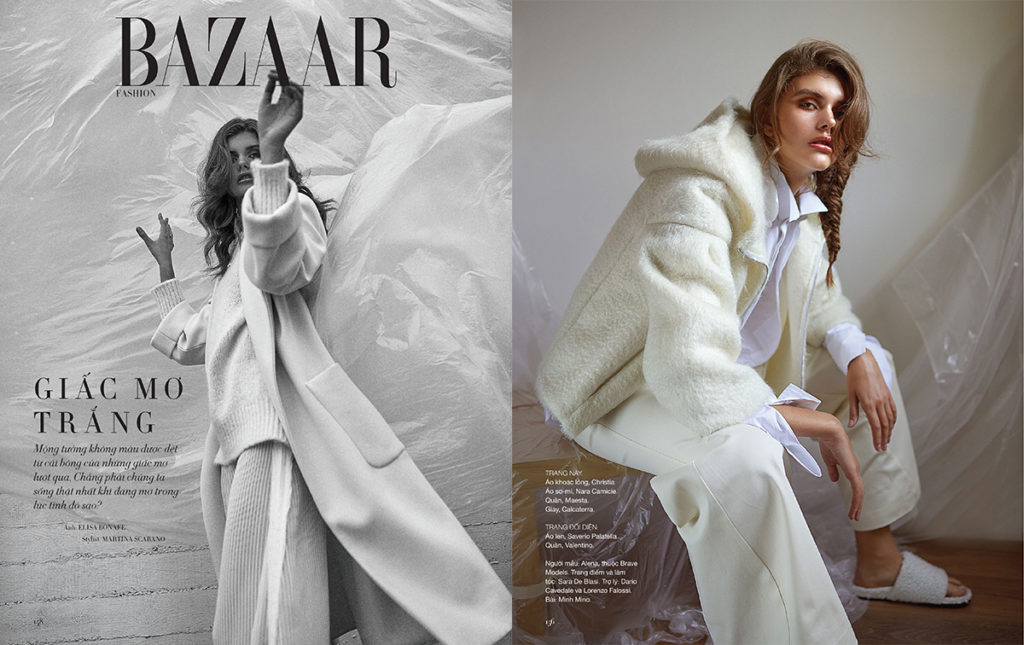 SHEEPSKIN FUR? LEAF TROUGH HARPER'S BAZAAR!